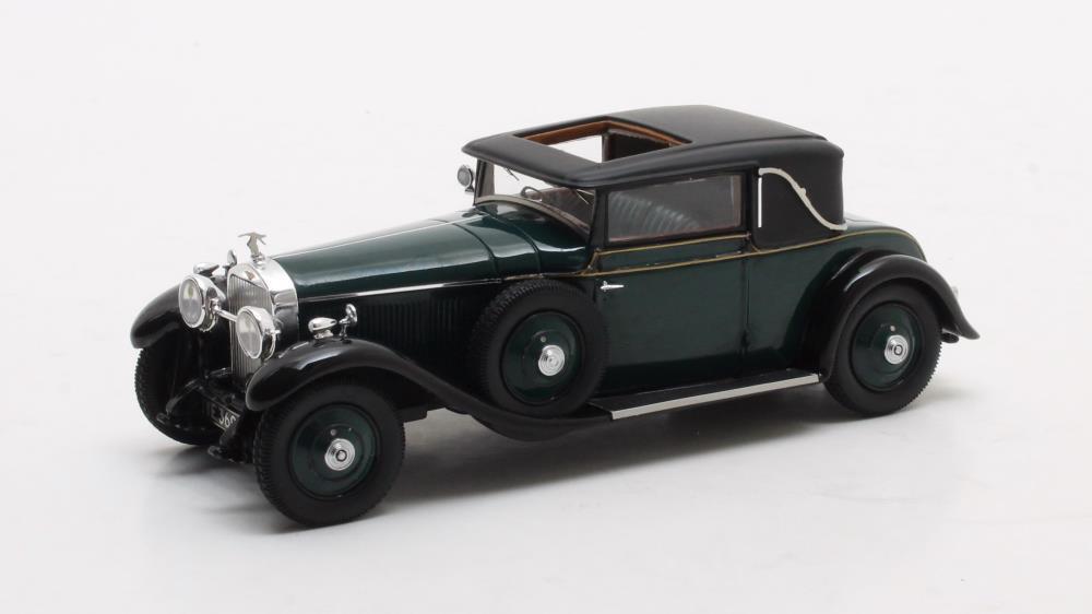 Hispano Suiza H6B Park Ward Coupe  Green  1927 (Matrix 1 43  MX50806-041)
