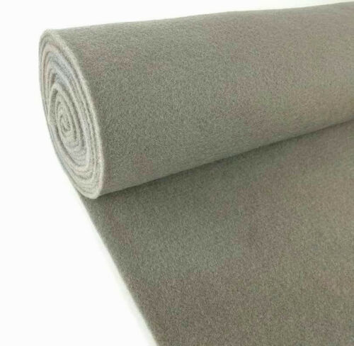 "5 Yards Grey Upholstery Durable Un-Backed Automotive Trim Carpet 40/"" x15 Ft Roll"