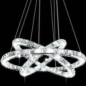 Modern galaxy led k9 crystal ring chandelier pendant light ceiling modern galaxy led k9 crystal ring chandelier pendant aloadofball Choice Image