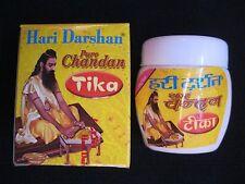 Hari Darshan | Chandan Tika |  Sandal Wood Paste |  2 x 40 Grams | Made in INDIA