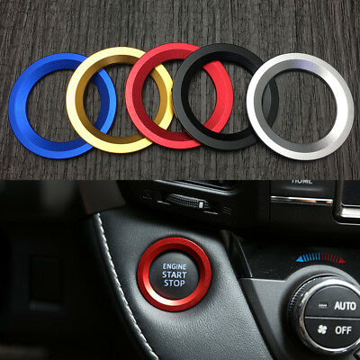 Engine Start Stop Push Button Cover Trim For Toyota C-HR RAV4 Highlander Alphard