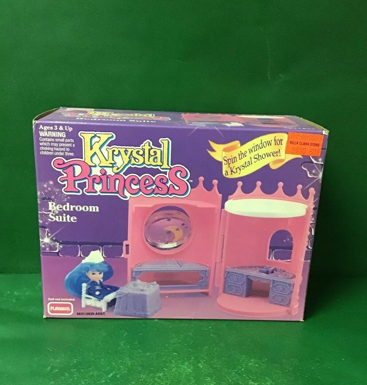 "1992 Krystal Princess ""Bedroom Suite"" NIB By Playskool"