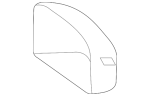 Genuine Ford Mirror Cover DB5Z-17D743-D