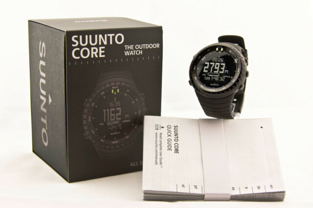 New Authentic Suunto Core All Black Military SS014279010 30% Christmas  SALE