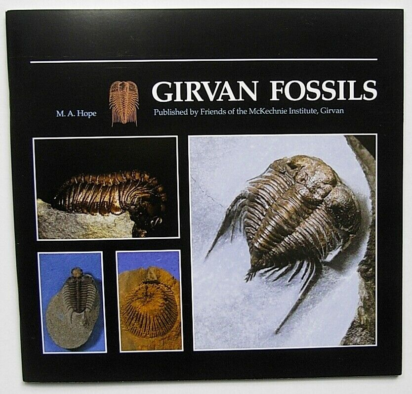 2004 1st GIRVAN FOSSILS Scottish TRILOBITES Starfish Echinoderms Paleontology