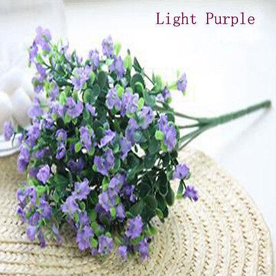 7 Branches Wedding Decoration Artificial Flower Gypsophila Bouquet Decor 1 Pcs
