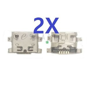 2X-Alcatel-One-Touch-P310A-5095I-6039S-Dock-Connector-USB-Charger-Charging-Port
