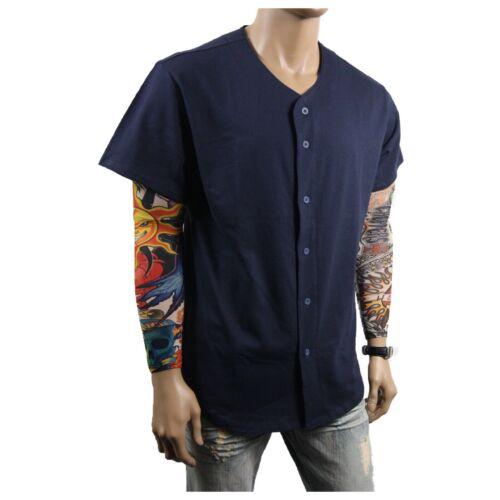 Men/'s Baseball Jersey T-Shirt Plain Sports Raglan Hipster Men /& Kids COTTON Tee