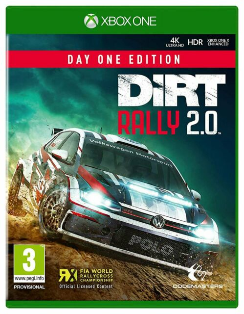 DiRT Rally 2.0 Microsoft Xbox One Game 3+ Years