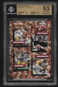 1991-Star-Pics-Brett-Favre-Green-Bay-Packers-109-BGS-9-5-GEM-MINT-Rookie-Card