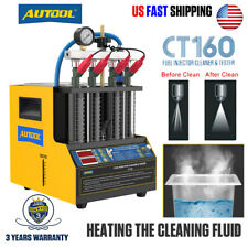4 Cylinde Petrol Car Fuel Injector Cleaner Tester Ultrasonic Cleaning Machine
