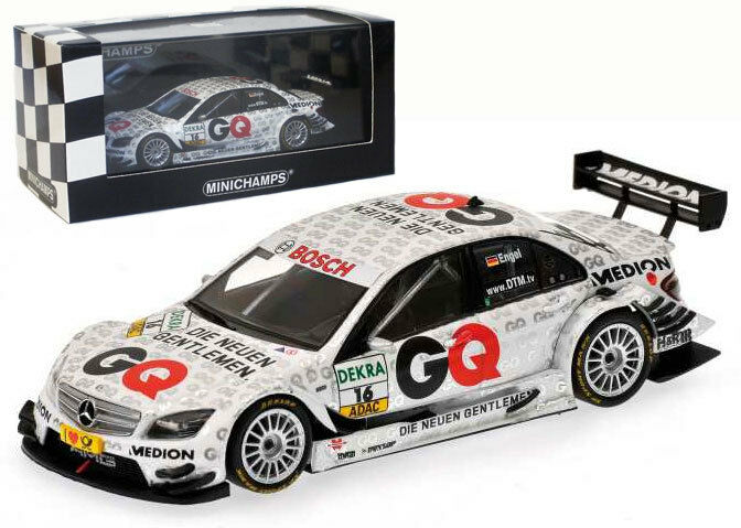 Minichamps Mercedes Benz C-Class DTM 2009 - M Engel 1 43 Scale