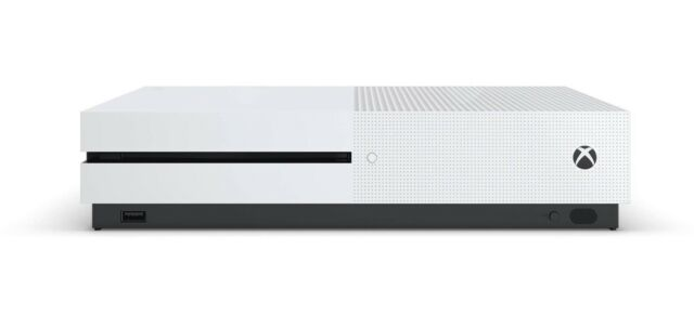 Microsoft Xbox One S Console 500GB White - CONSOLE ONLY - NEW OTHER