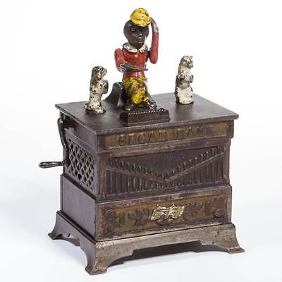 1005. ORGAN BANK CAST-IRON MECHANICAL BANK Lot 1005