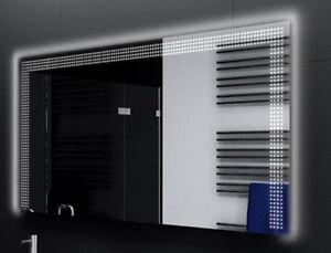 Badspiegel-mit-LED-Beleuchtung-Badezimmerspiegel-Bad-Spiegel-Wandspiegel-D123