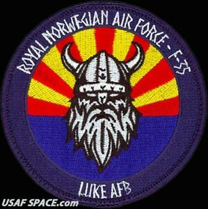 USAF-62nd-FIGHTER-SQ-ROYAL-NORWEGIAN-AIR-FORCE-F-35-LIGHTNING-II-ORIG-PATCH