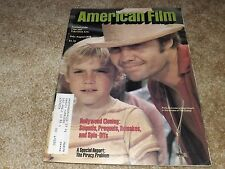 AMERICAN FILM (JUL/AUG '78) JON VOIGHT / RICKY SCHRODER in THE CHAMP Cover