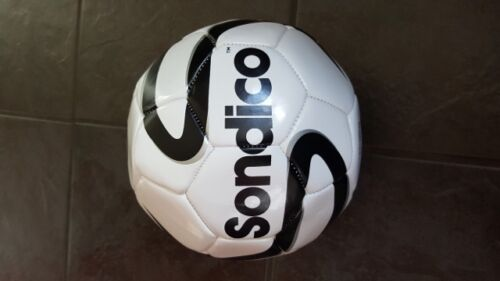 Sondico Football size 4 Sport Equipment Soccer Balls white black