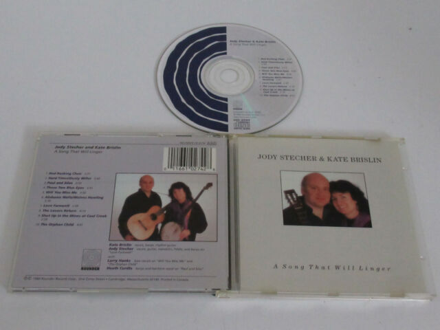 Jody Stecher & Kate Brislin ‎– a Song that Will Linger/Rounder Records-Cd 0274