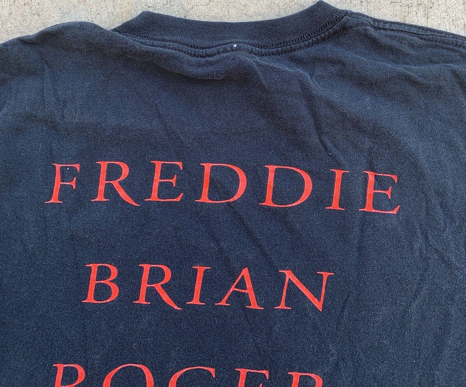 Queen Freddie Brian Roger John T-Shirt Graphics O… - image 9