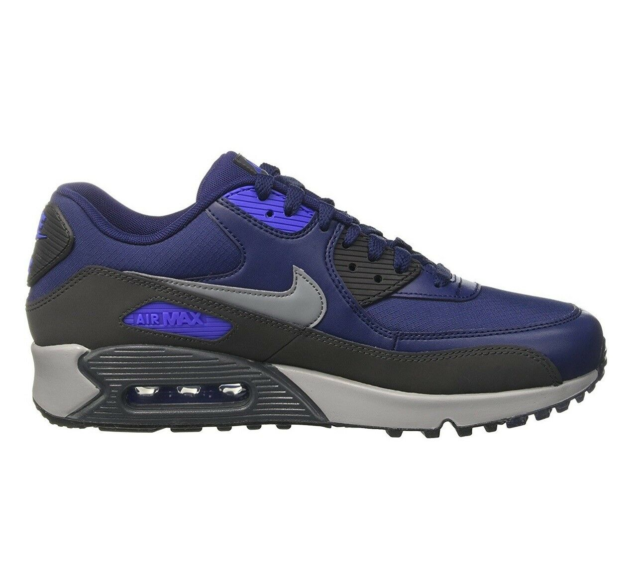 Nike Air Max 90 Essential Mens 537384-418 Binary Blue Running Shoes Size 8
