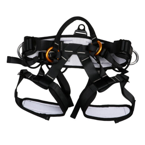 Pro Tree Carving Rock Climbing Harness Equip Gear Rappel Rescue Safety Belt