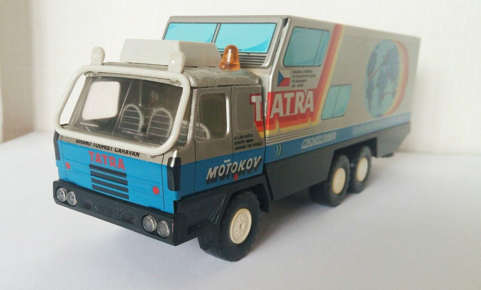 Tatra T815 Motokov Grand Tourist Caravan Truck 1 43 made in Czechoslovakia