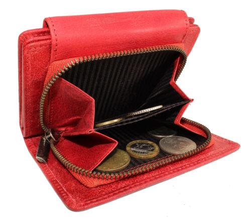 Femmes Cuir Porte-monnaie Portefeuille Porte-monnaie poli à la main TOP ASPECT DARGELIS NEUF