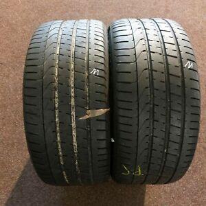 2x-Pirelli-P-Zero-275-40-r20-106y-Dot-0314-6-mm-pneus-d-039-ete