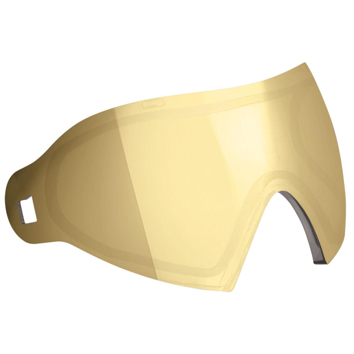 Dye i4   i5 Thermal Dyetanium Mirror Goggle Lens - Smoke   gold