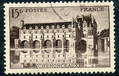 Architecture Timbre France Oblitere N° 610 Chateau De Chenonceaux Practical Stamp