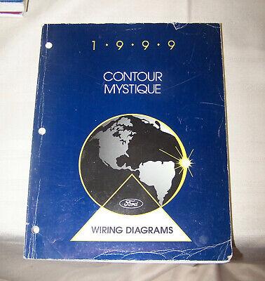 1999 Ford Contour Mercury Mystique Wiring Diagram OEM ...