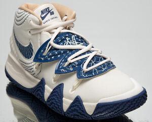 Nike Kybrid S2 Sashiko Men's Kyrie Irving Sail Mystic Navy Basketball Sneakers