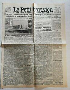 N955-La-Une-Du-Journal-Le-petit-Parisien-9-mai-1915-un-crime-premidite