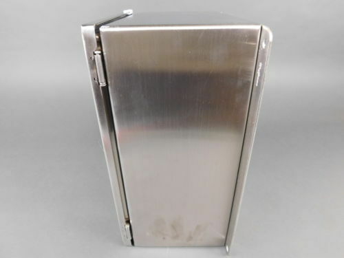 NEW... Hoffman 230x310x155mm Wall-Mount Stainless Steel Enclosure LHC233116SS