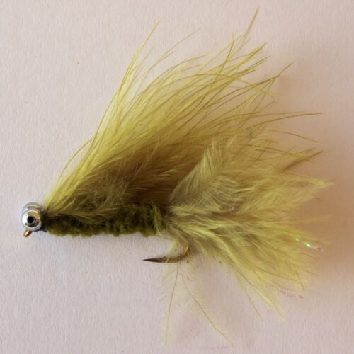 6 Cats Whiskers Trout Fly Fishing Flies lures streamers Size option Dragonflies