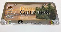 1 Pc Rasta Reggae Lion Of Judah Chrome Metal License Plate Frame Lpf-1012