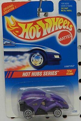 Lace Hub Wheels 1995 Hot Wheels ~HOT HUBS~ Vampyra 2//4