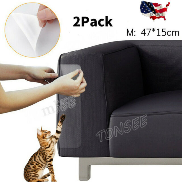Frequently Bought Together 2pcs Pet Cat Scratch Guard Mat Scratching Post Furniture