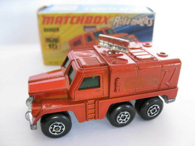 Matchbox Lesney Rola-Matics Number 16 Badger.