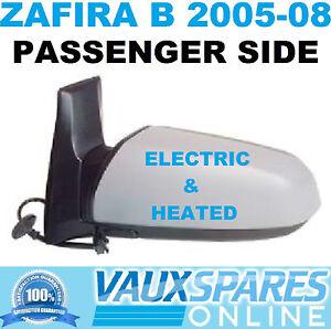 VAUXHALL ZAFIRA B 05-08 MIRROR WING ELECTRIC RIGHT NEW