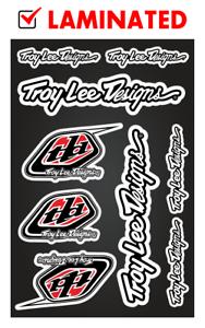 Troy Lee Designs Decals Stickers Heavy Duty Vinyl Autocollant Aufkleber Adesivi
