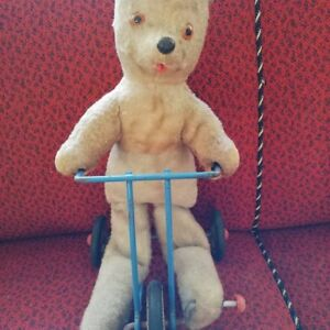 Jouet Ancien/vieil Ours Peluche/old Teddy Bear/old Toy /année 1950/1960