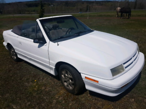 1991 Dodge Shadow Turbo Convertible