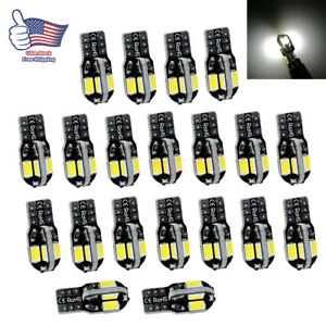 20x-Canbus-T10-194-168-W5W-5730-8-LED-SMD-White-Car-Side-Wedge-Light-Bulb-Lamp