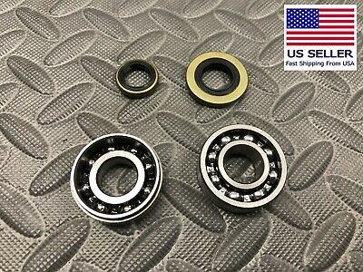 NEW Crankcase Crankshaft Oil Seal Seals Clutch Flywheel Side for Stihl 046 MS460