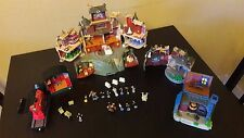 Harry Potter Polly Pocket Play Sets with Figures and Accessories