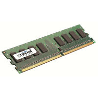 Crucial 1gb Ddr2 800mhz Pc2-6400 240 Pin Cl6 1.8v Non Ecc Desktop Memory Ram 800