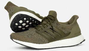 Details about Adidas Ultra Boost Ultraboost 3.0 Trace Olive Green White Black S82018 Sz 7.5
