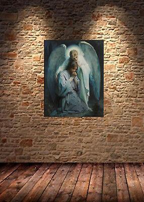 Agony by Egon Schiele Giclee Fine ArtPrint Repro on Canvas The Death Struggle
